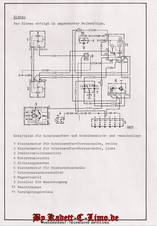 Fantastisch H6054 Scheinwerfer Schaltplan Bilder - Elektrische ...